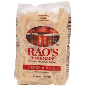 RAO'S HOMEMADE WHOLE WHEAT PENNE RIGATE