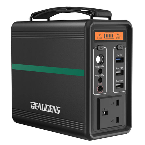 BEAUDENS 166wh portable power station