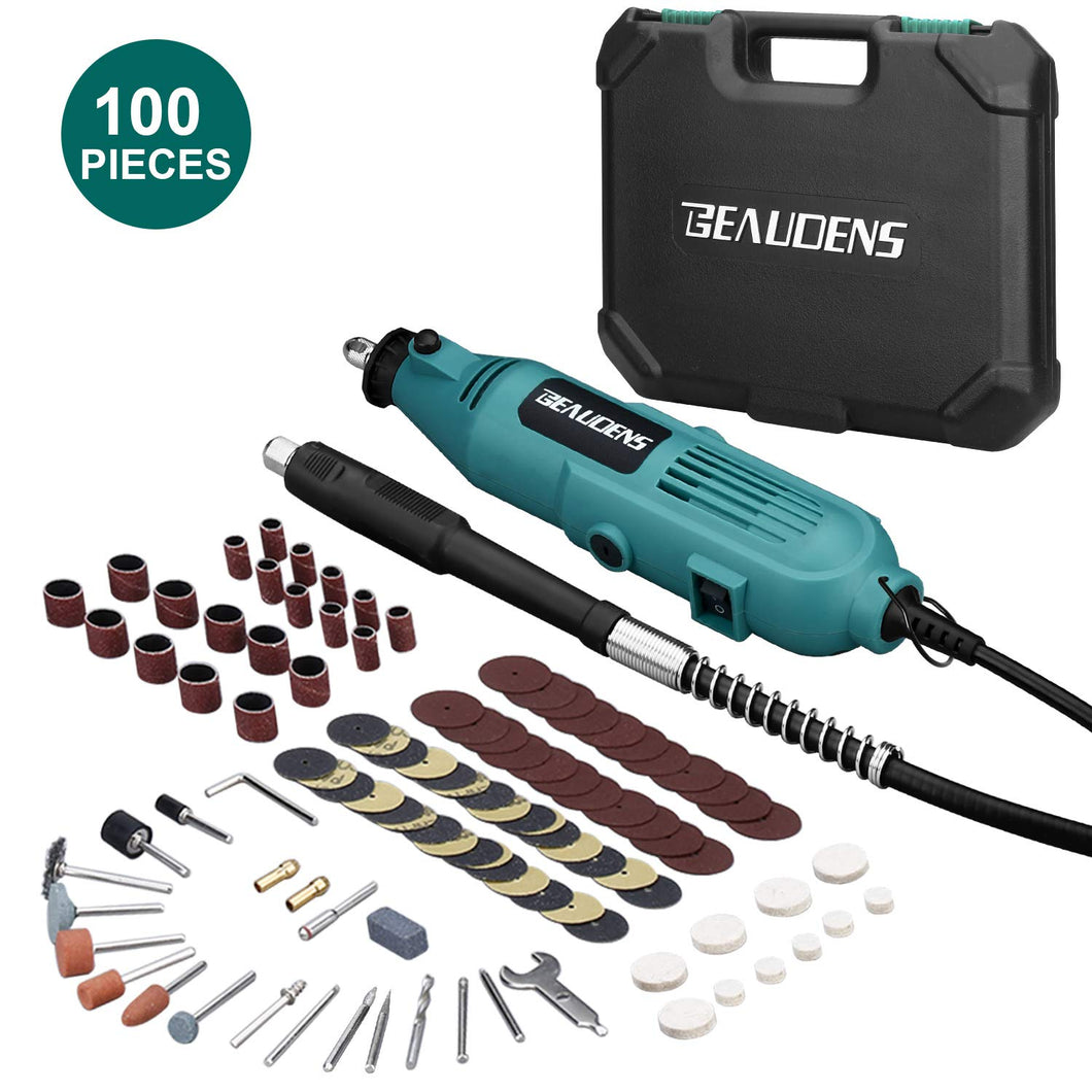 Electrical Rotary Tool Kit, 100 Accessories