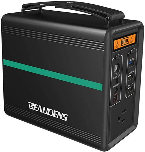 Portable Power Station, 2000 Cycles,166Wh