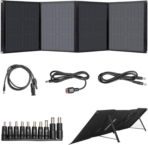 100W Solar Panel Type C / QC3.0 / USB / DC Output
