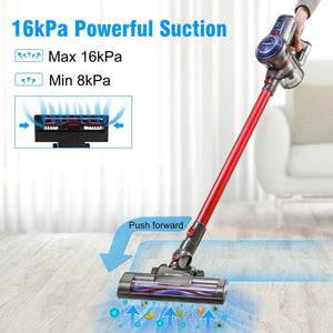 16KpA Suction of BEAUDENS B6 Broom Vacuum Cleaner