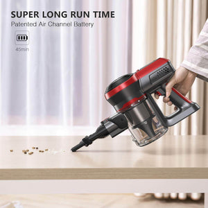 Long Run Time of BEAUDENS Broom Vacuum Cleaner