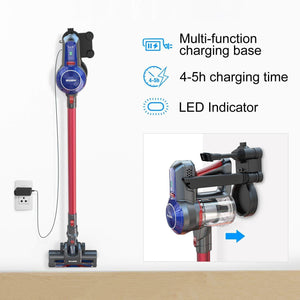 Charging way of BEAUDENS B6 Broom Vacuum Cleaner