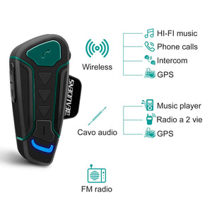 details about BEAUDENS Wireless Bluetooth Intercom