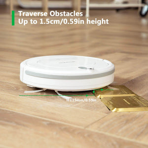 BEAUDENS KK290 vacuum robot traverse obstacles up to 1.5cm height