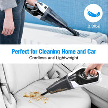 Load image into Gallery viewer, 2.3lbs lightweight of BEAUDENS cordless handheld vacuum cleaner