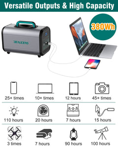 BEAUDENS 380wh portable power station