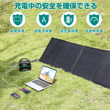 Load image into Gallery viewer, 100W Solar Panel Type C / QC3.0 / USB / DC Output