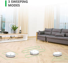 Load image into Gallery viewer, 3 sweeping modes of BEAUDENS KK290 vacuum robot