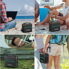 Load image into Gallery viewer, BEAUDENS 166wh portable power station used for outdoor