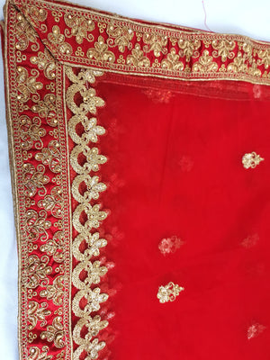 Red Indian lehenga wedding/partywear