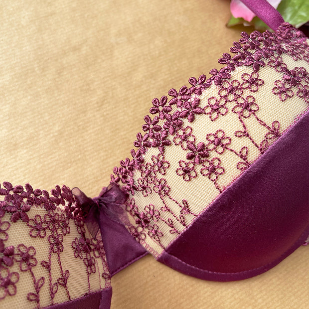 Reggiseno push-up Iberis Purple