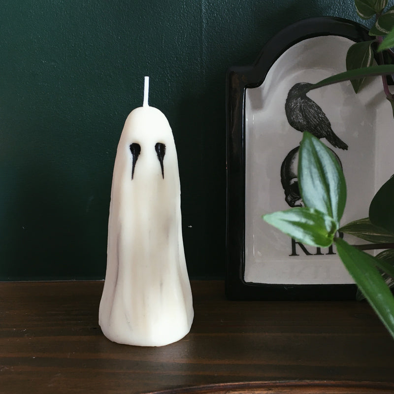 Goth Ghost Candle