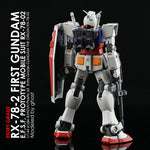 G- rework HG The Origin RX-78-2/ Entry Grade RX-78-2 Water Decal