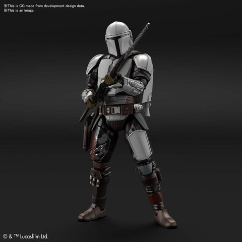 1/12 The Mandalorian (Beskar Armor) Model Kit [Aug 2021 - Sep 2021]