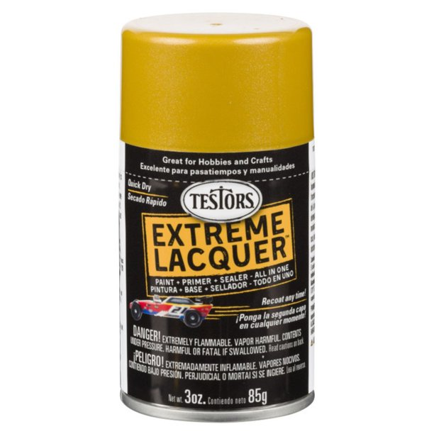 Testors Extreme Lacquer Pure Gold