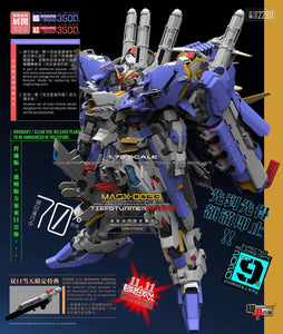 (Pre-order) Mechanicore 1/72 MS-0011 EX-S Gundam Blue Version