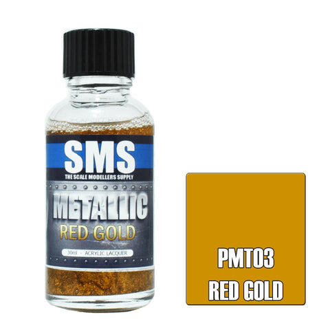 SMS Metallic Red Gold 30ml