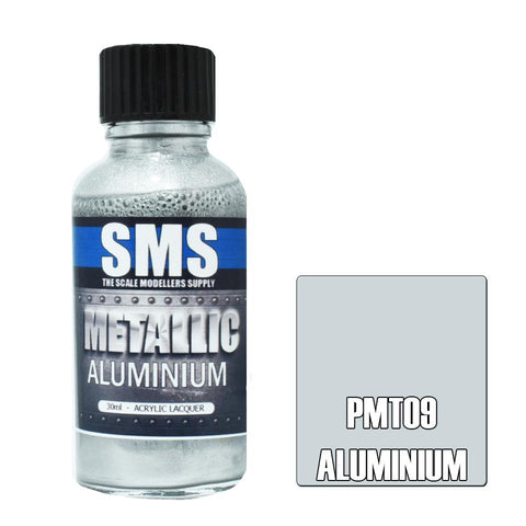 SMS Metallic Aluminium 30ml