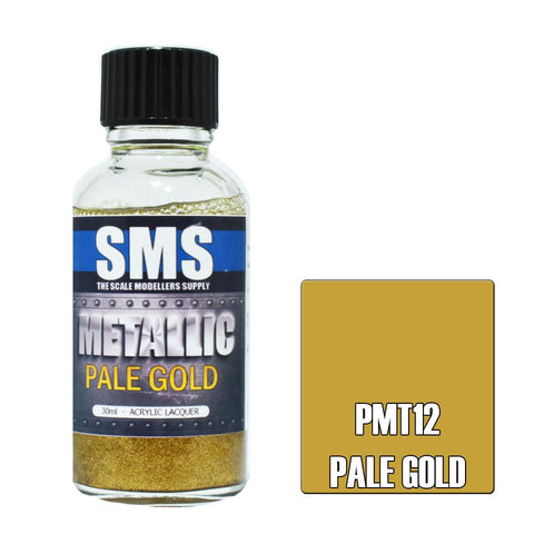 SMS Metallic Pale Gold 30ml