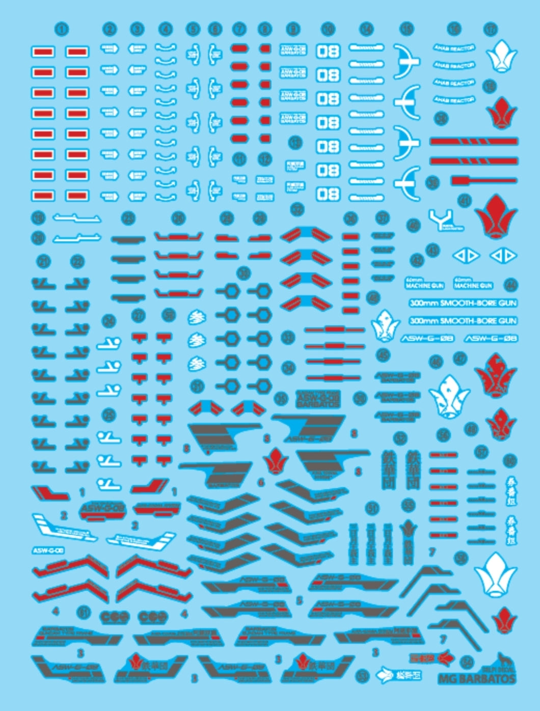 Delpi MG Barbatos Water Decal