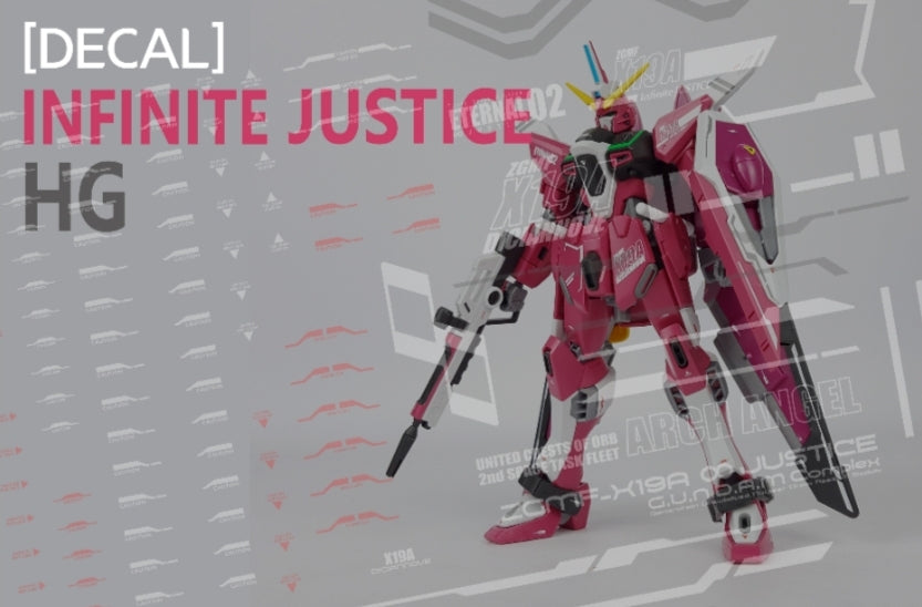 Delpi HG Infinite Justice Water Decal