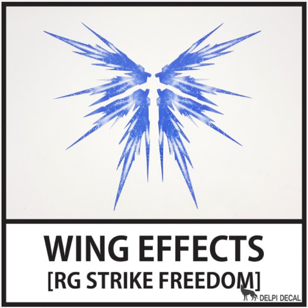Delpi Effect Wings RG Strike Freedom