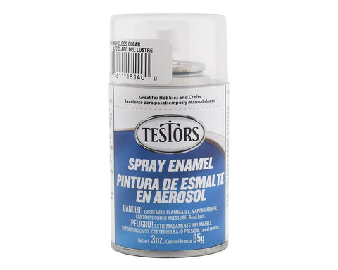 Testors Spray Enamel High Gloss Clear