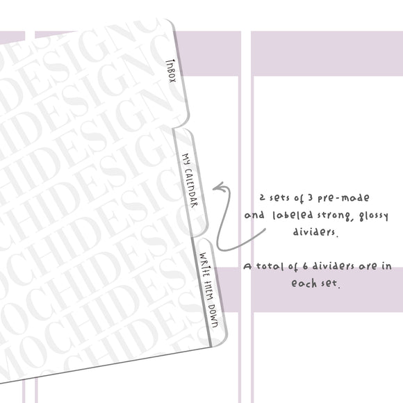 Dividers (Side) - Premade