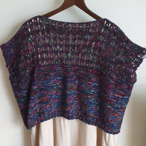 Scotch Broom Tee knitted in Embers