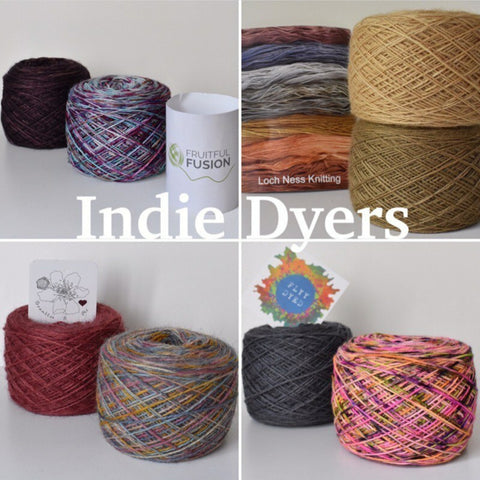 Woolly Originals Indie Dyer selection
