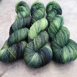 Dye Marvel 11. Merino Nylon 4-ply/fingering