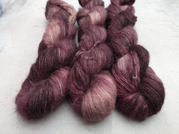 Cinnamon. Suri Silk Cloud lace