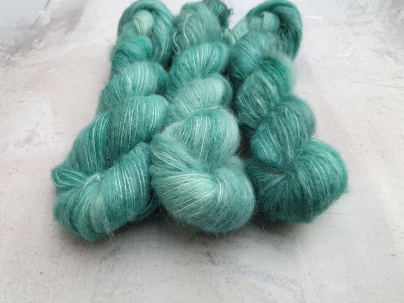 Aqua. Suri Silk Cloud lace
