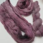 Load image into Gallery viewer, Plum OOAK. Suri Silk Cloud lace
