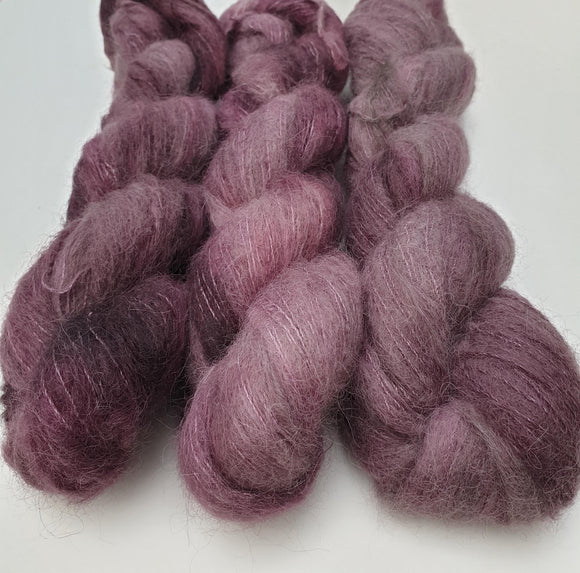 Plum OOAK. Suri Silk Cloud lace