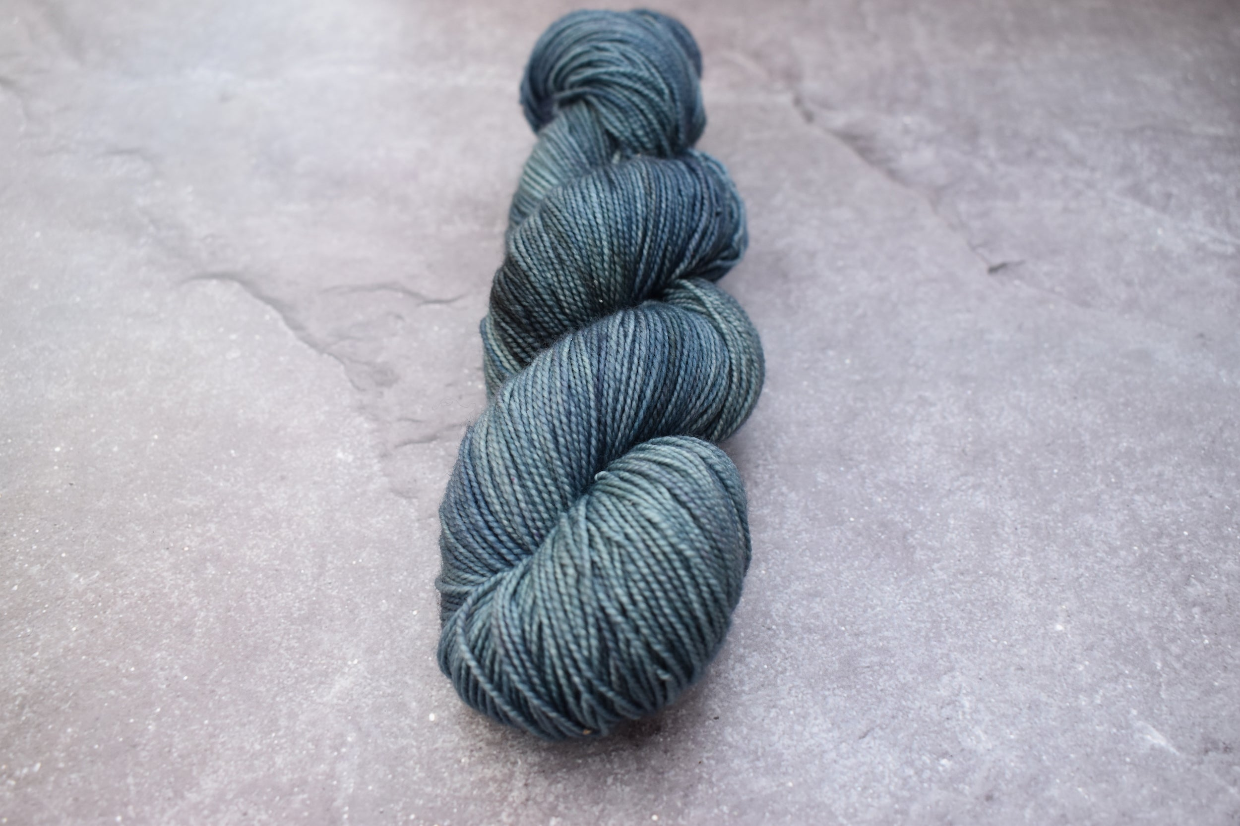 Denim. Merino Nylon High Twist 4-ply/fingering