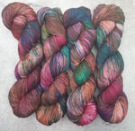 Load image into Gallery viewer, Embers. Merino Nylon High Twist 4-ply/fingering