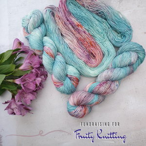 PRE-ORDER Fruity Knitting Exclusive. BFL 4-ply/fingering
