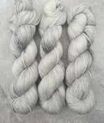 Load image into Gallery viewer, Grey (one of a kind). 100% Merino 4-ply/fingering