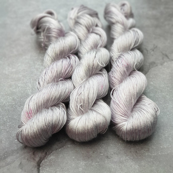 Lilac. Tencel 4-ply/fingering