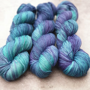 Not Even Water. Merino Nylon 4-ply/fingering