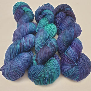 Not Even Water. BFL Nylon High Twist 4-ply/fingering