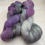 Load image into Gallery viewer, Oil Spill OOAK. 100% Merino Singles 4-ply/fingering