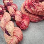 Load image into Gallery viewer, Peachy Keen 1. Merino Nylon 4-ply/fingering