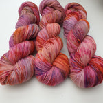 Load image into Gallery viewer, Pink Palace. Merino Nylon High Twist 4-ply/fingering