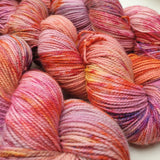 Pink Palace. Merino Nylon High Twist 4-ply/fingering