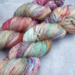 Load image into Gallery viewer, Red Sea Sepia OOAK. Merino Nylon High Twist 4-ply/fingering