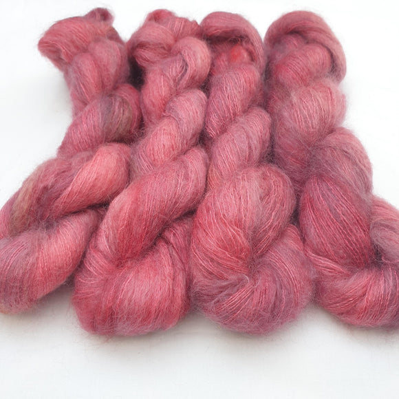 Sweet Red Apple. Mohair Silk.